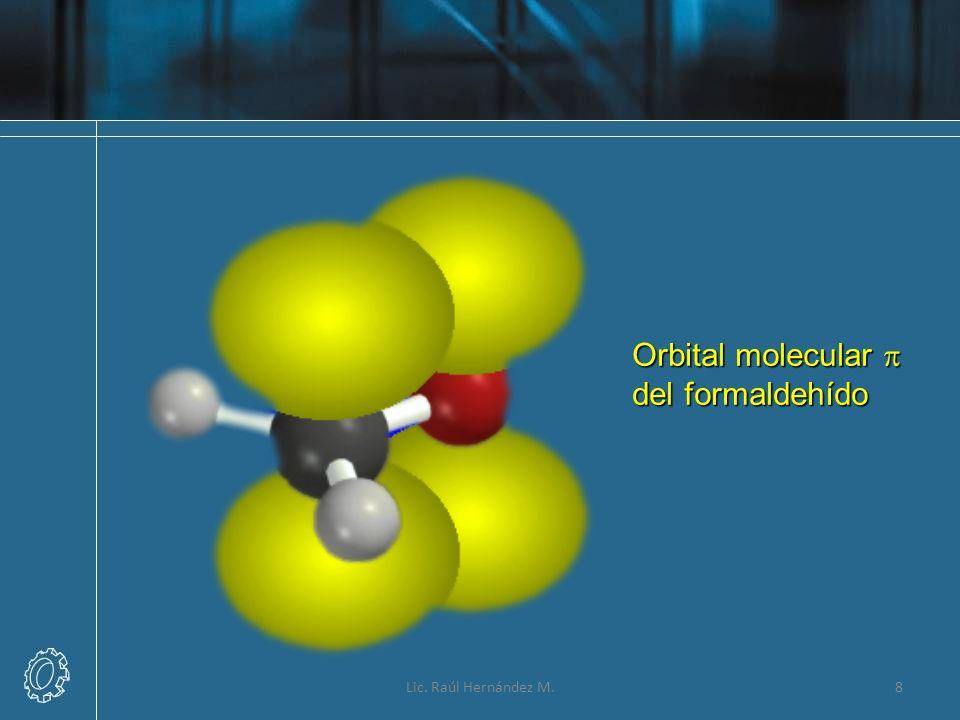 Orbital molecular p del formaldehído