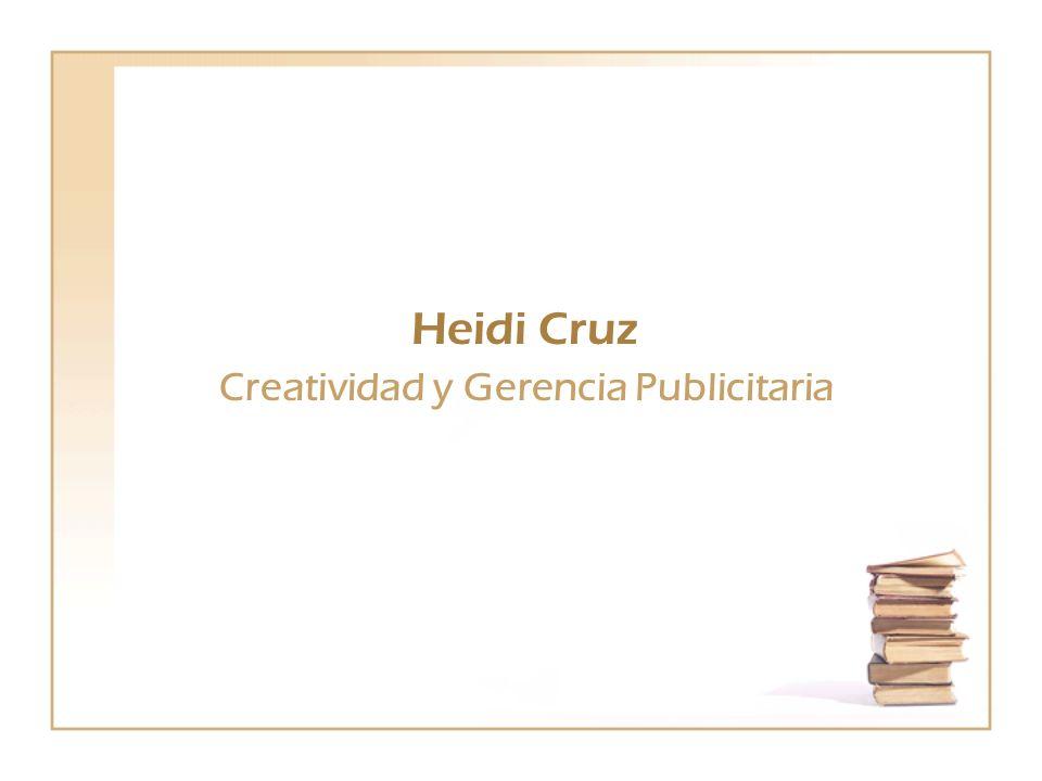 Creatividad y Gerencia Publicitaria