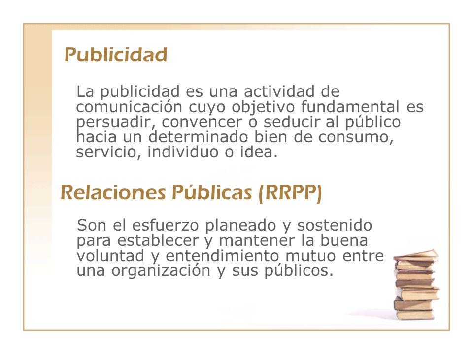 Relaciones Públicas (RRPP)