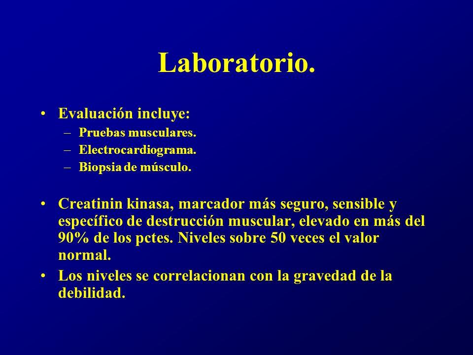Laboratorio. Evaluación incluye: