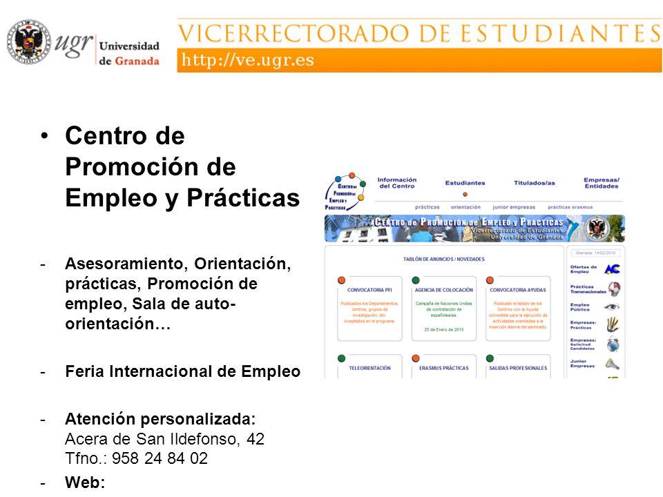 Centro de Promoción de Empleo y Prácticas