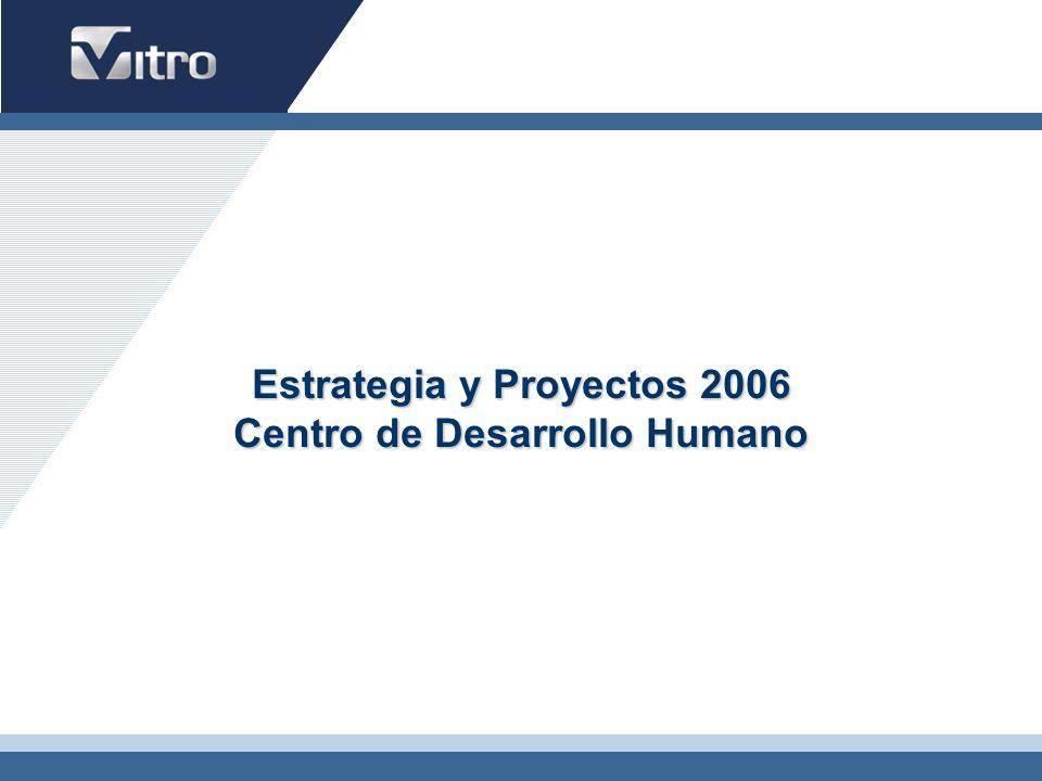 Estrategia y Proyectos 2006 Centro de Desarrollo Humano
