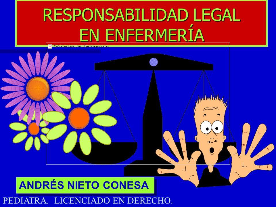 RESPONSABILIDAD LEGAL EN ENFERMERÍA