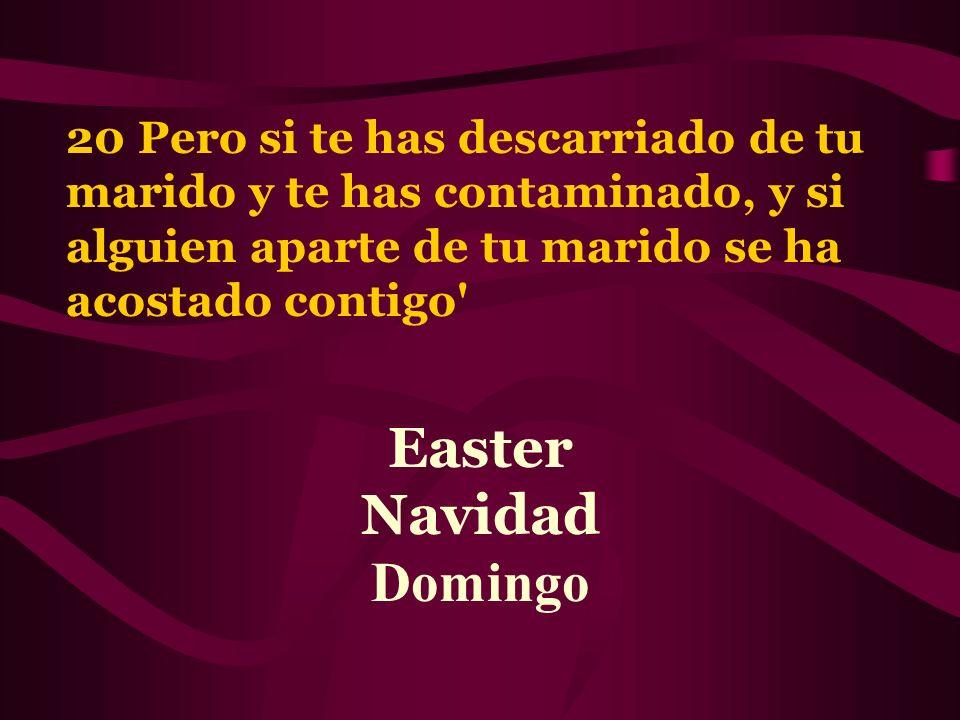 Easter Navidad Domingo