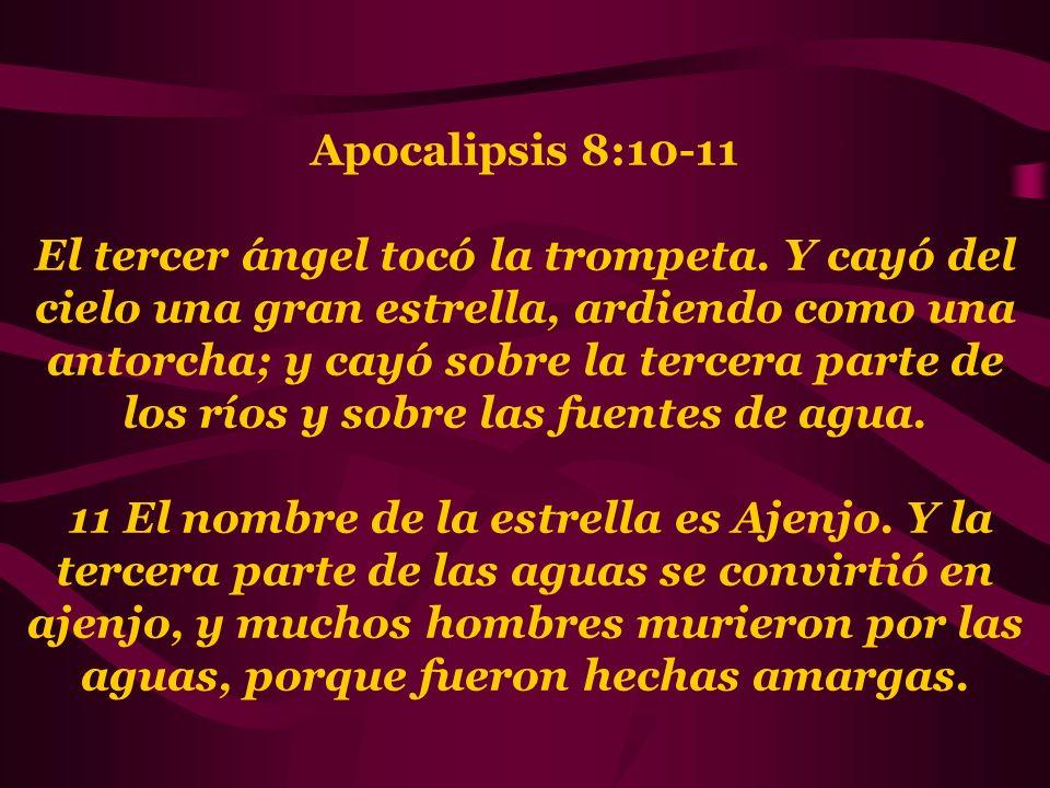 Apocalipsis 8:10-11