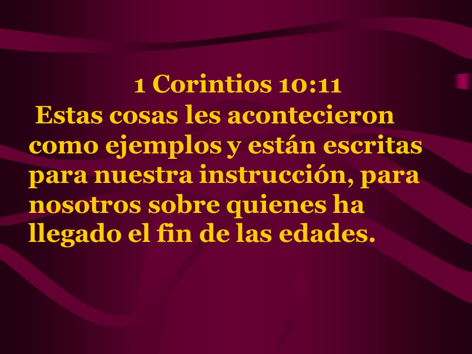 1 Corintios 10:11