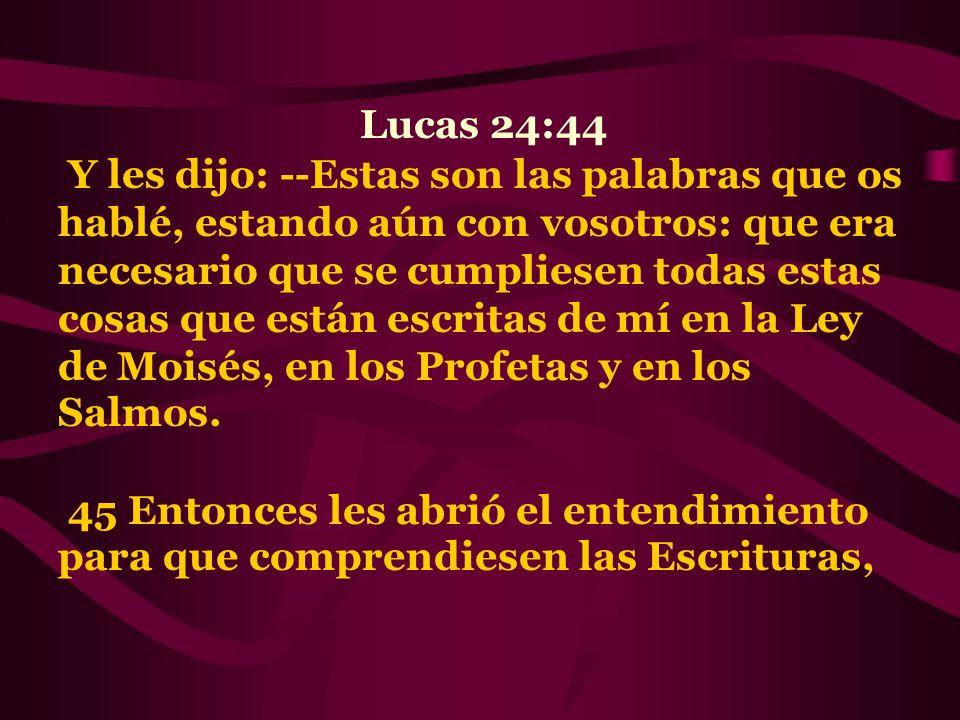 Lucas 24:44