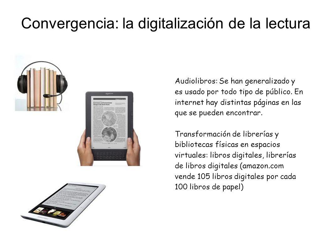 Convergencia: la digitalización de la lectura