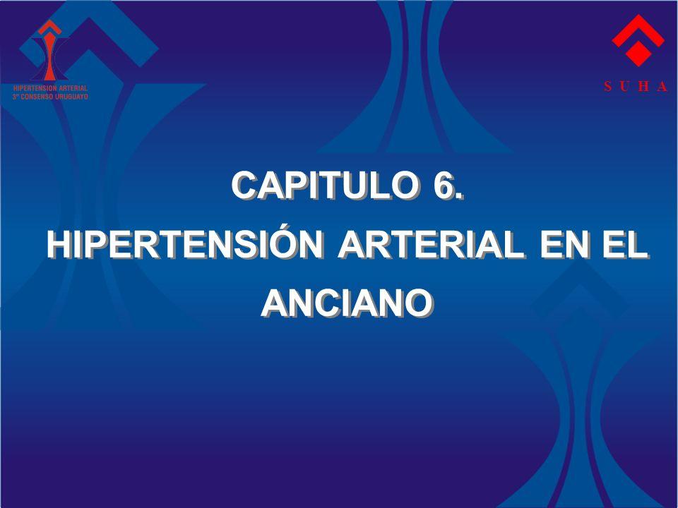 CAPITULO 6. HIPERTENSIÓN ARTERIAL EN EL ANCIANO