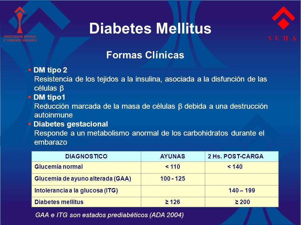 Diabetes Mellitus Formas Clínicas DM tipo 2