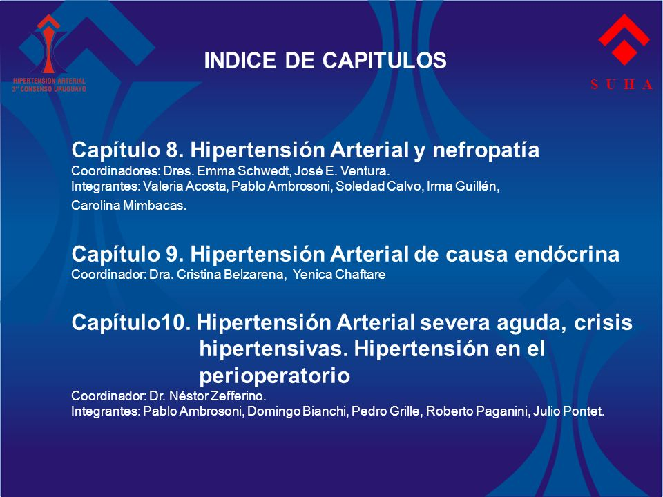 Capítulo 8. Hipertensión Arterial y nefropatía