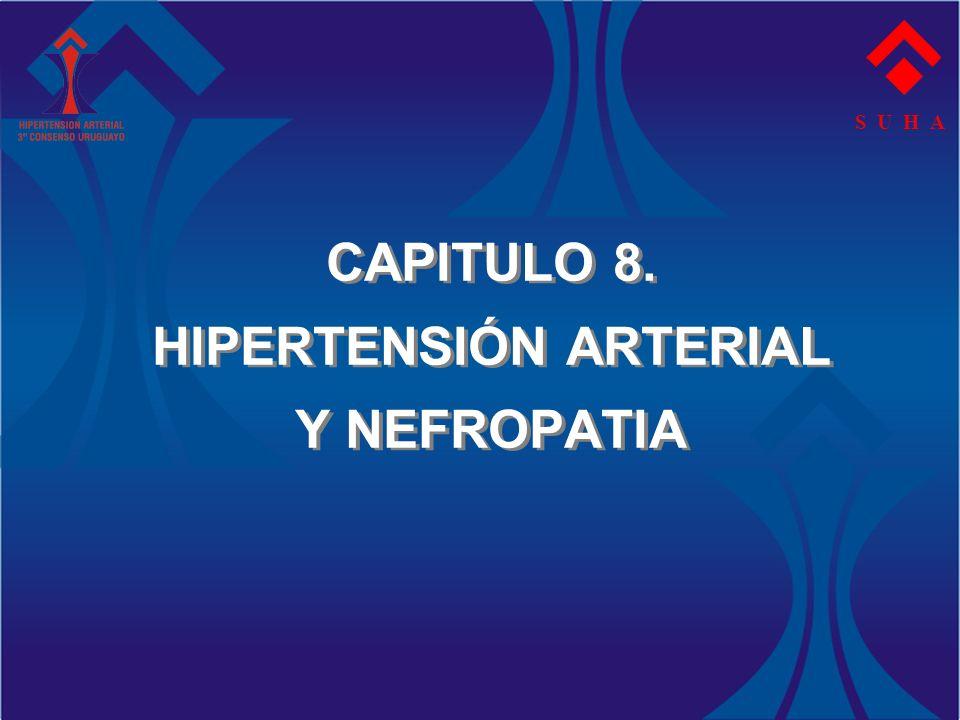 CAPITULO 8. HIPERTENSIÓN ARTERIAL Y NEFROPATIA