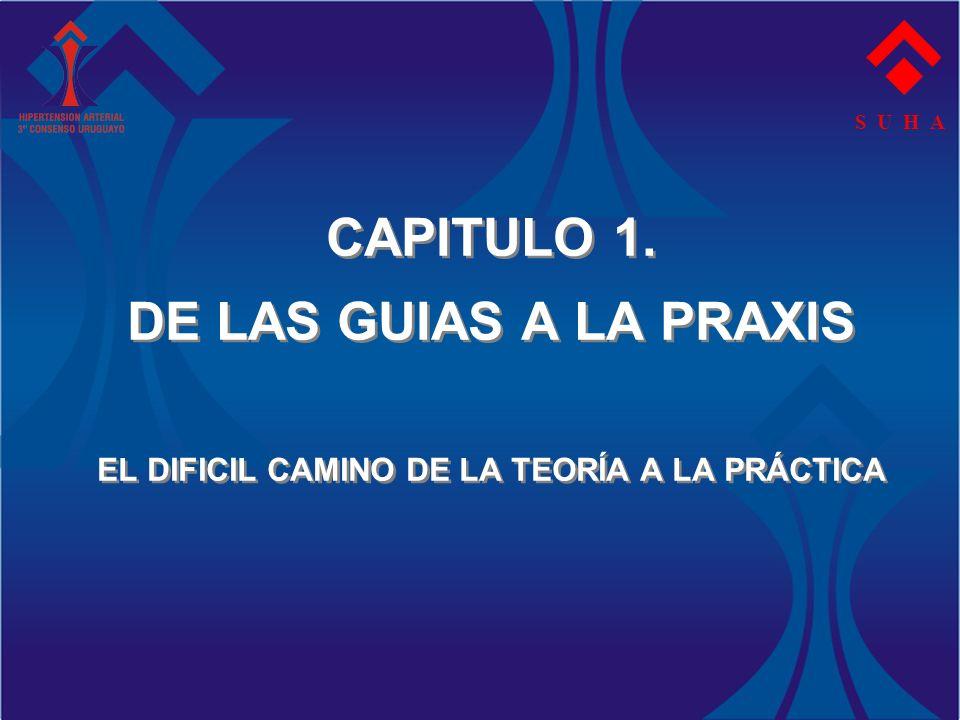 S U H A CAPITULO 1. DE LAS GUIAS A LA PRAXIS EL DIFICIL CAMINO DE LA TEORÍA A LA PRÁCTICA