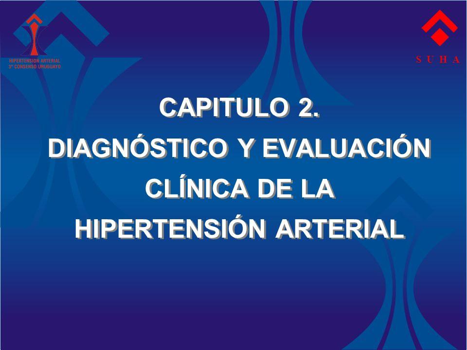 S U H A CAPITULO 2. DIAGNÓSTICO Y EVALUACIÓN CLÍNICA DE LA HIPERTENSIÓN ARTERIAL