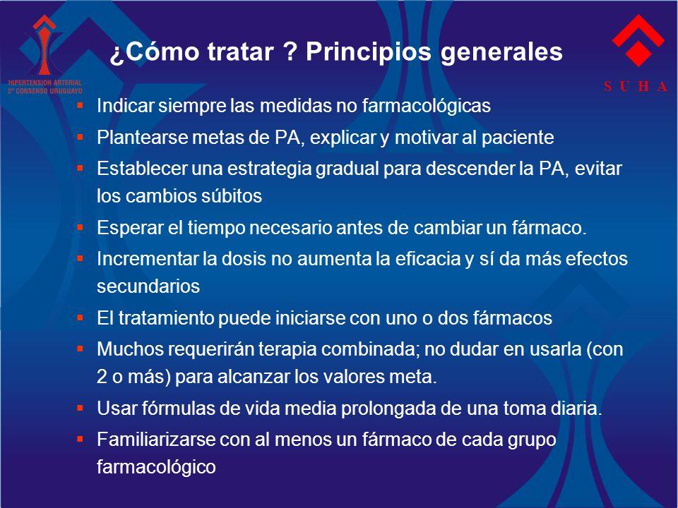 ¿Cómo tratar Principios generales