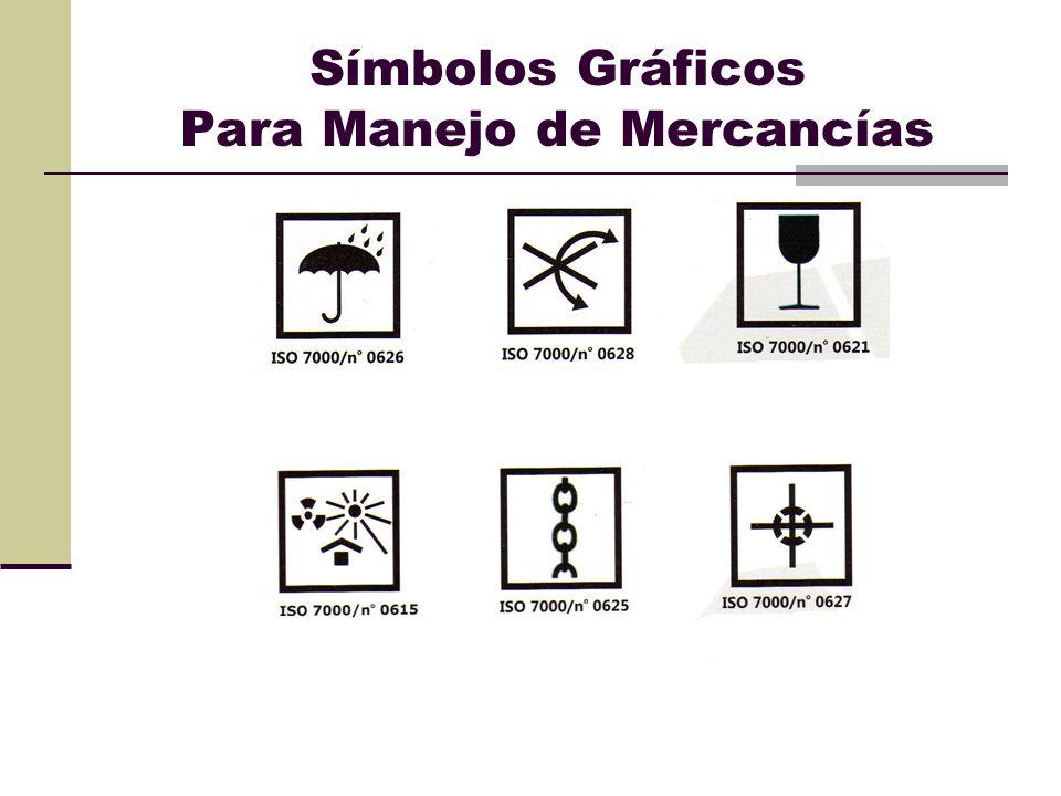 Símbolos Gráficos Para Manejo de Mercancías