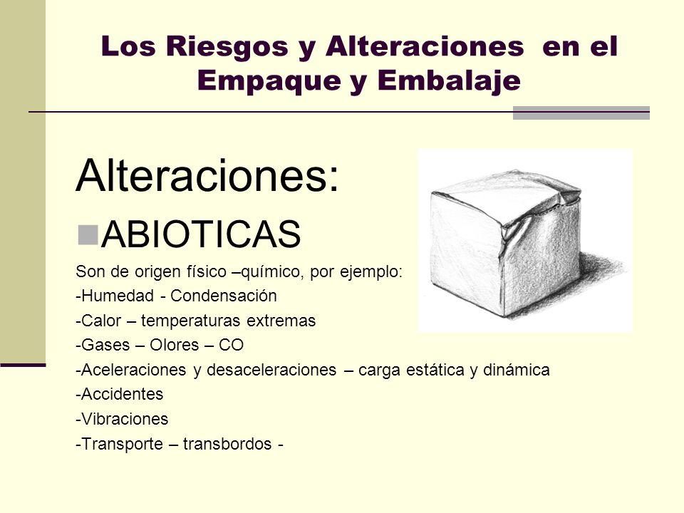 Los Riesgos y Alteraciones en el Empaque y Embalaje
