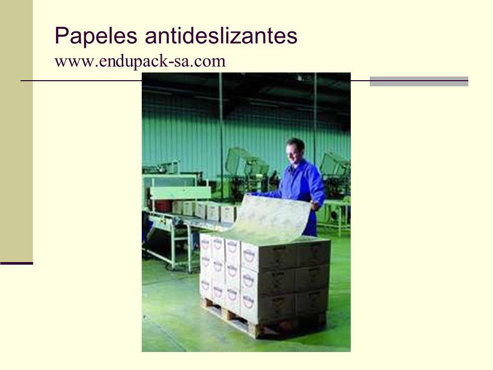 Papeles antideslizantes www.endupack-sa.com