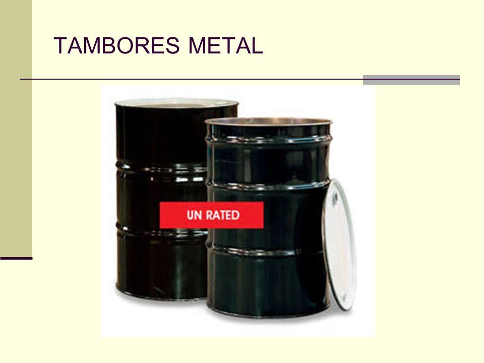 TAMBORES METAL