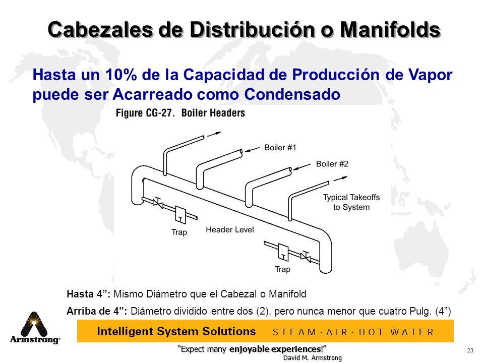 Cabezales de Distribución o Manifolds