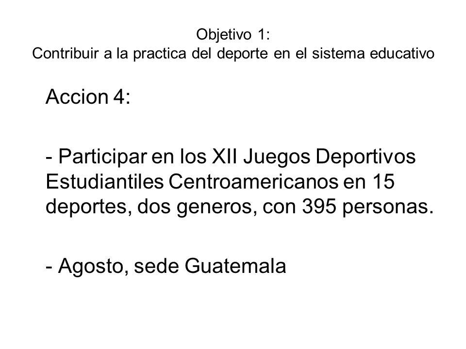 - Agosto, sede Guatemala