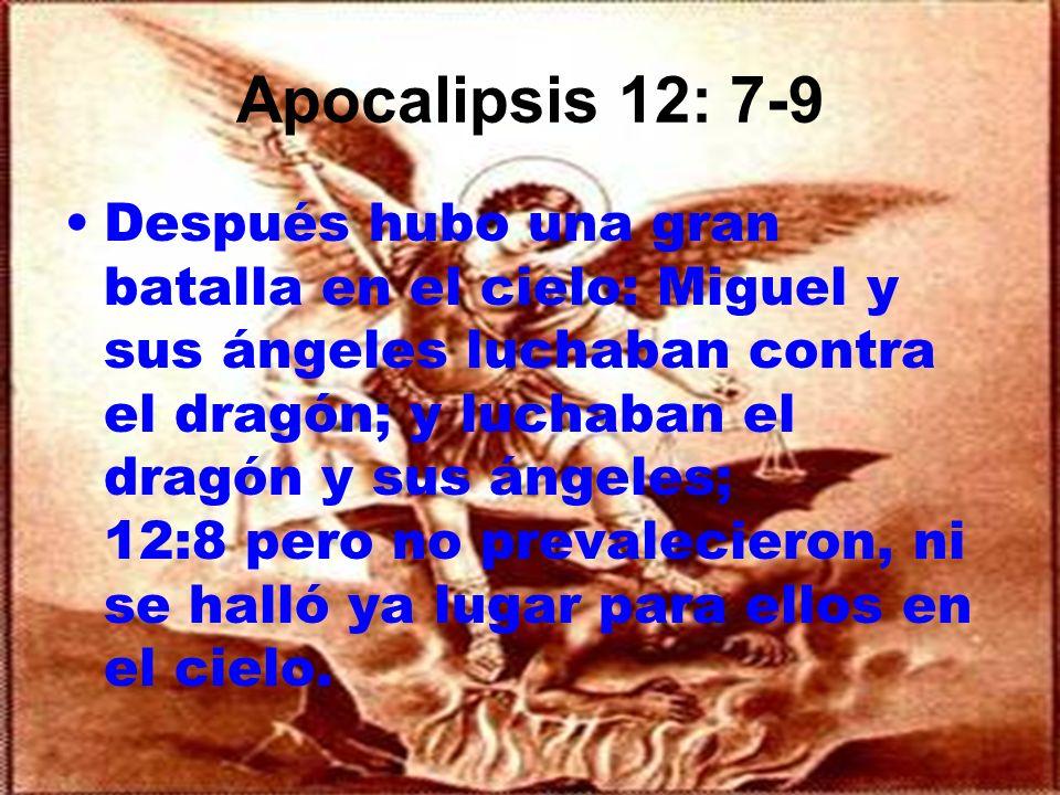 Apocalipsis 12: 7-9