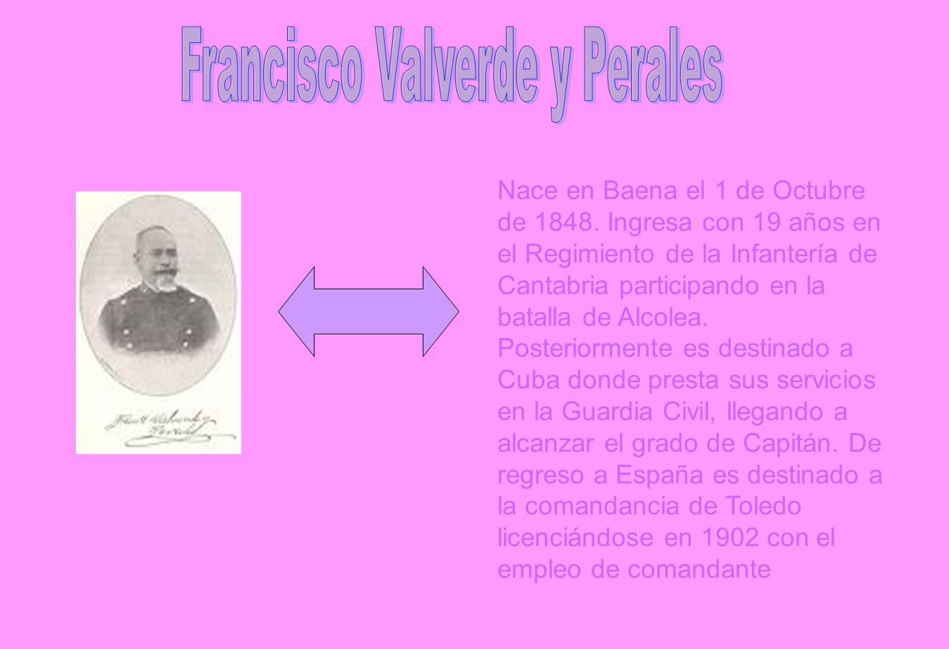 Francisco Valverde y Perales