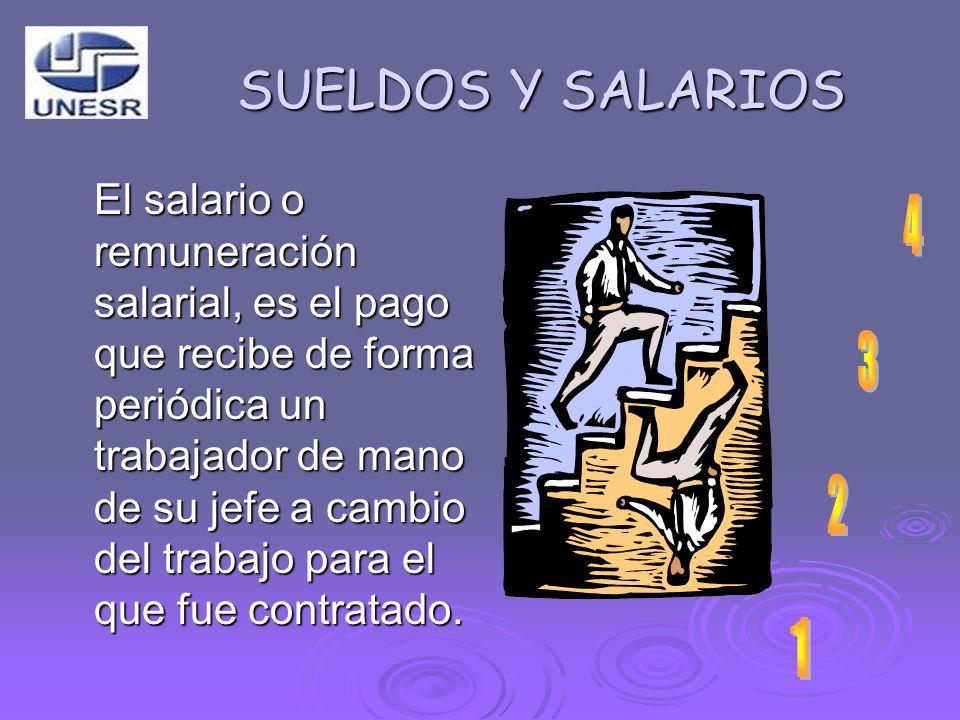 SUELDOS Y SALARIOS