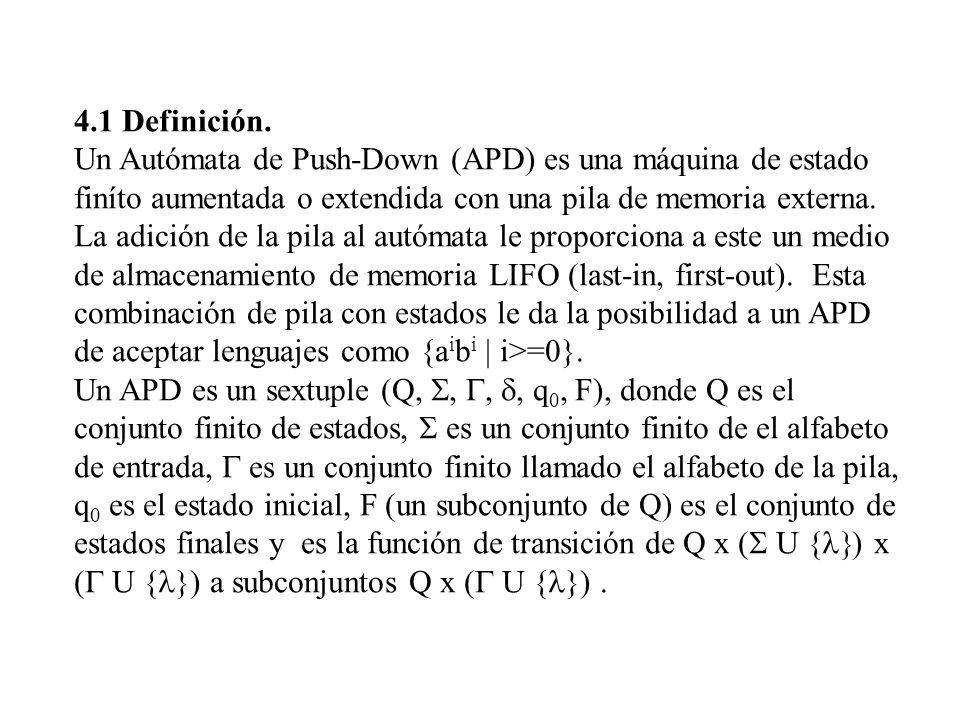 4.1 Definición.