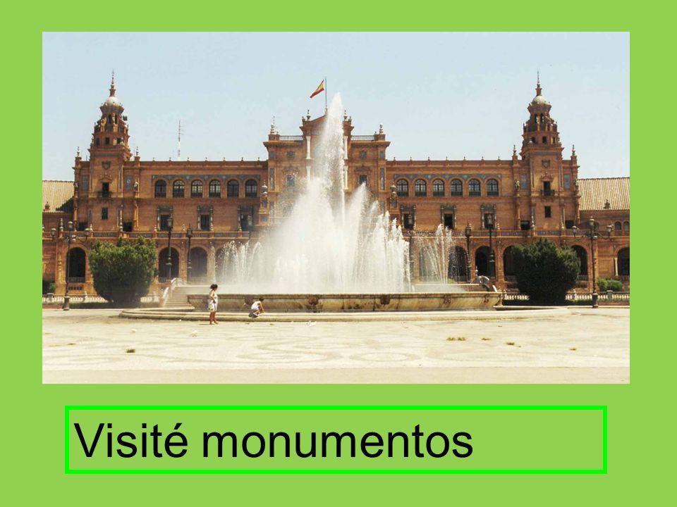 Visité monumentos
