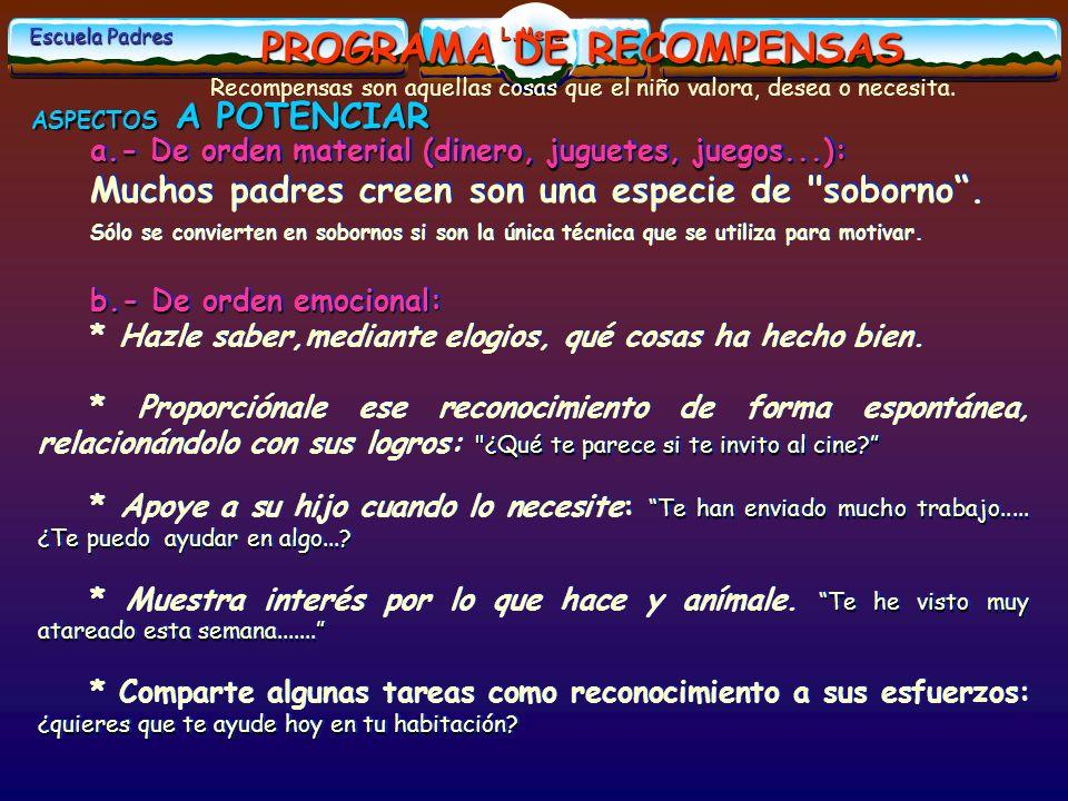 PROGRAMA DE RECOMPENSAS