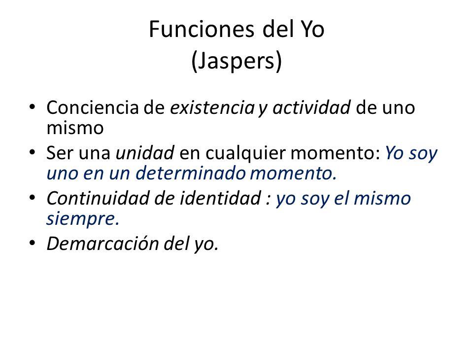Funciones del Yo (Jaspers)