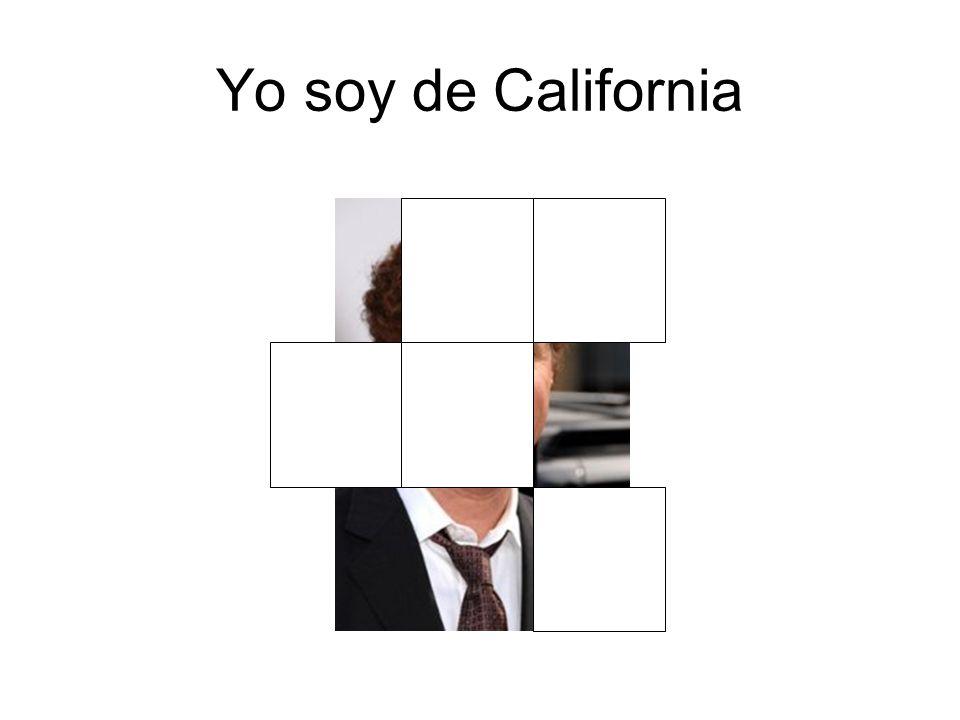 Yo soy de California