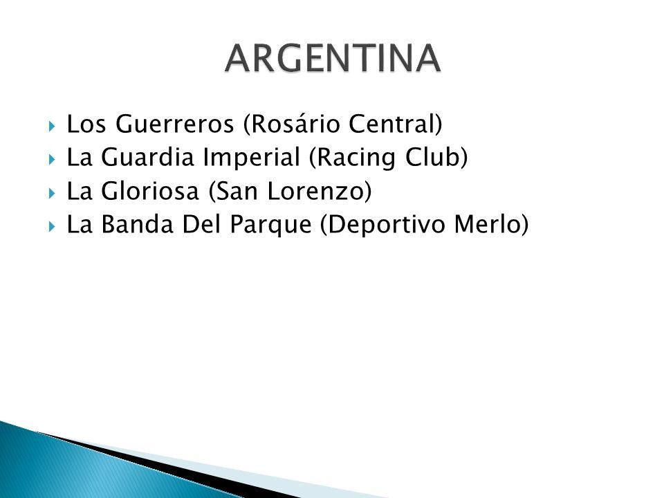 ARGENTINA Los Guerreros (Rosário Central)