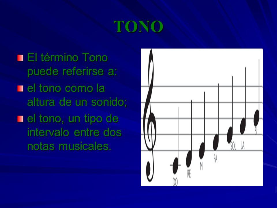 TONO El término Tono puede referirse a: