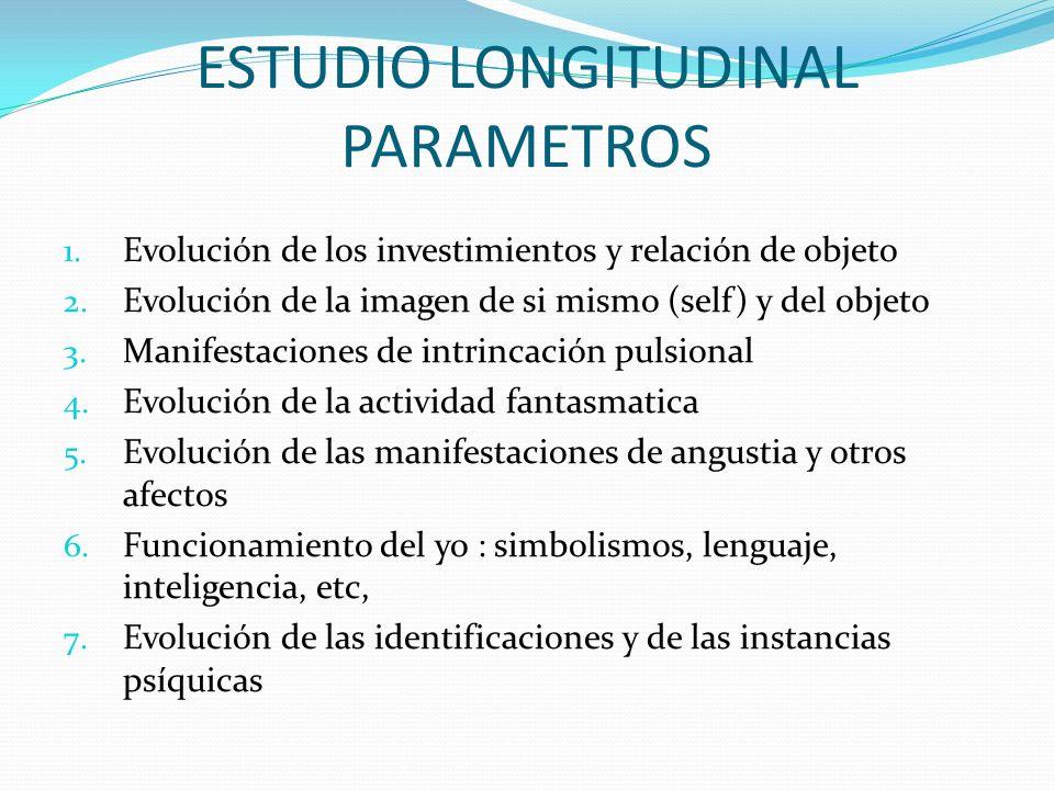 ESTUDIO LONGITUDINAL PARAMETROS