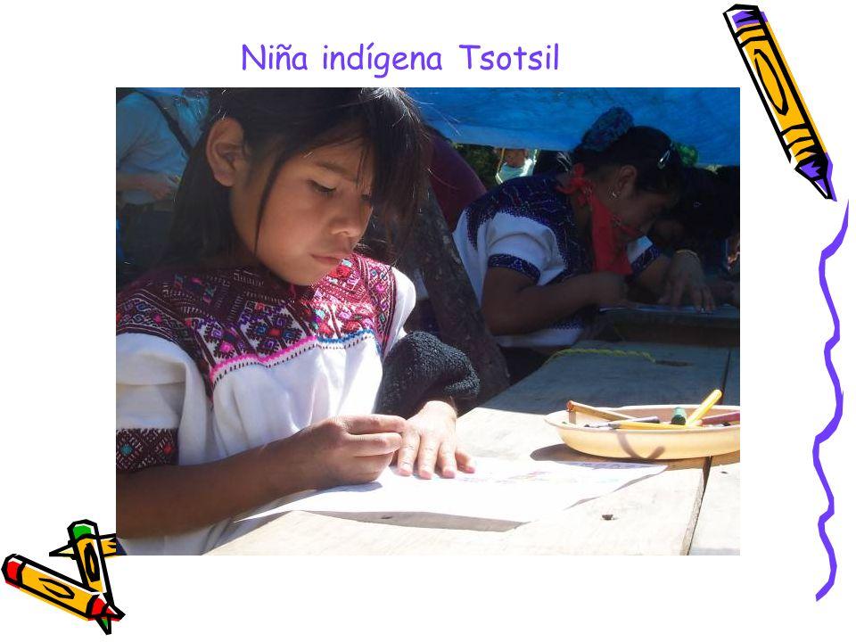 Niña indígena Tsotsil