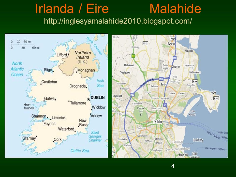 Irlanda / Eire Malahide http://inglesyamalahide2010.blogspot.com/