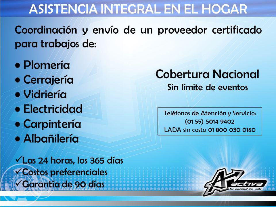 ASISTENCIA INTEGRAL EN EL HOGAR