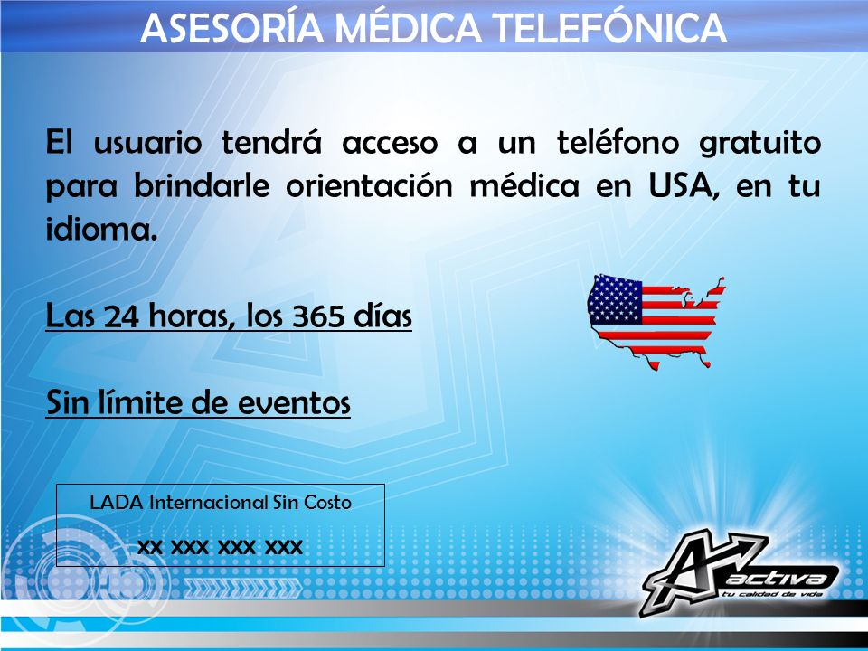ASESORÍA MÉDICA TELEFÓNICA