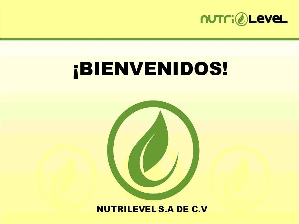 ¡BIENVENIDOS! NUTRILEVEL S.A DE C.V