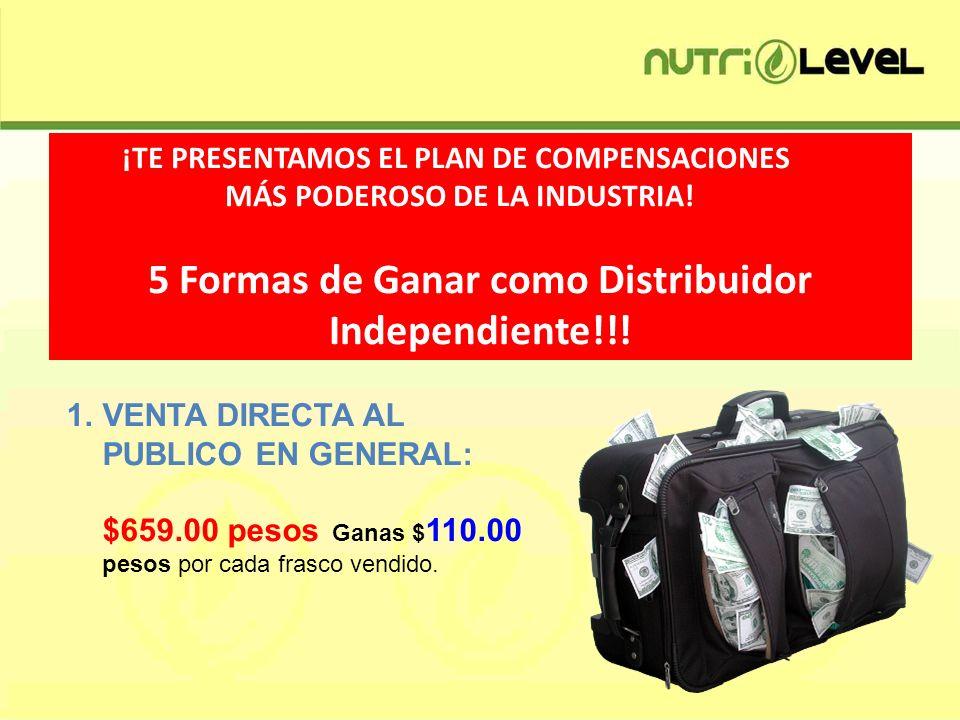 5 Formas de Ganar como Distribuidor Independiente!!!