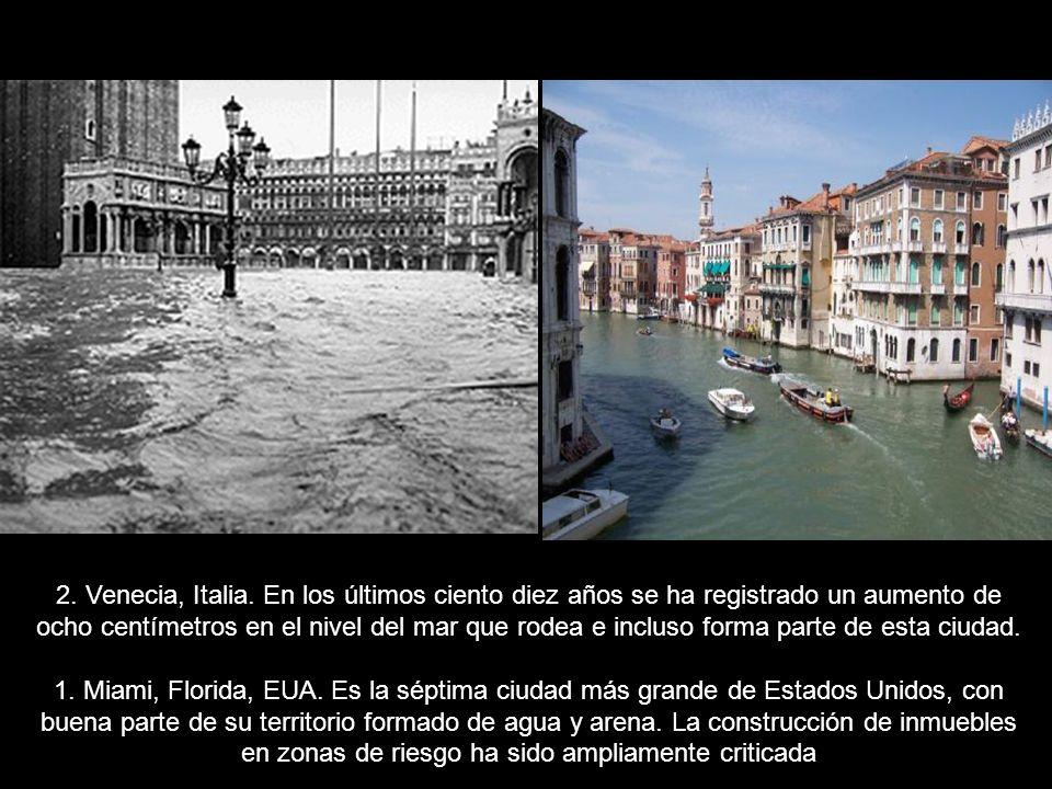 2. Venecia, Italia.
