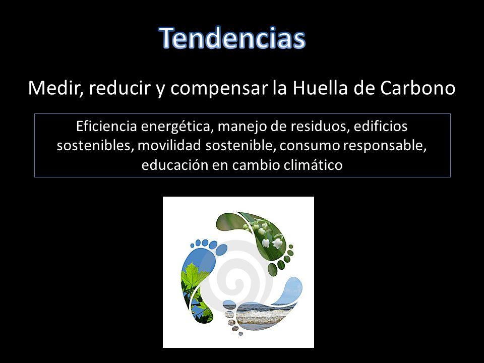 Tendencias Medir, reducir y compensar la Huella de Carbono