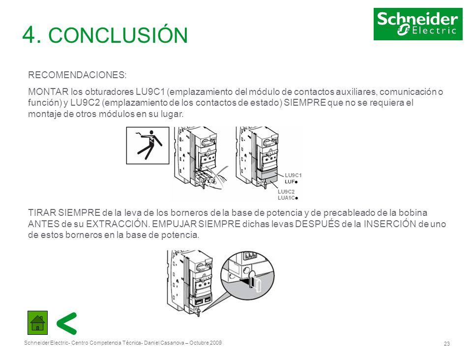 4. CONCLUSIÓN RECOMENDACIONES: