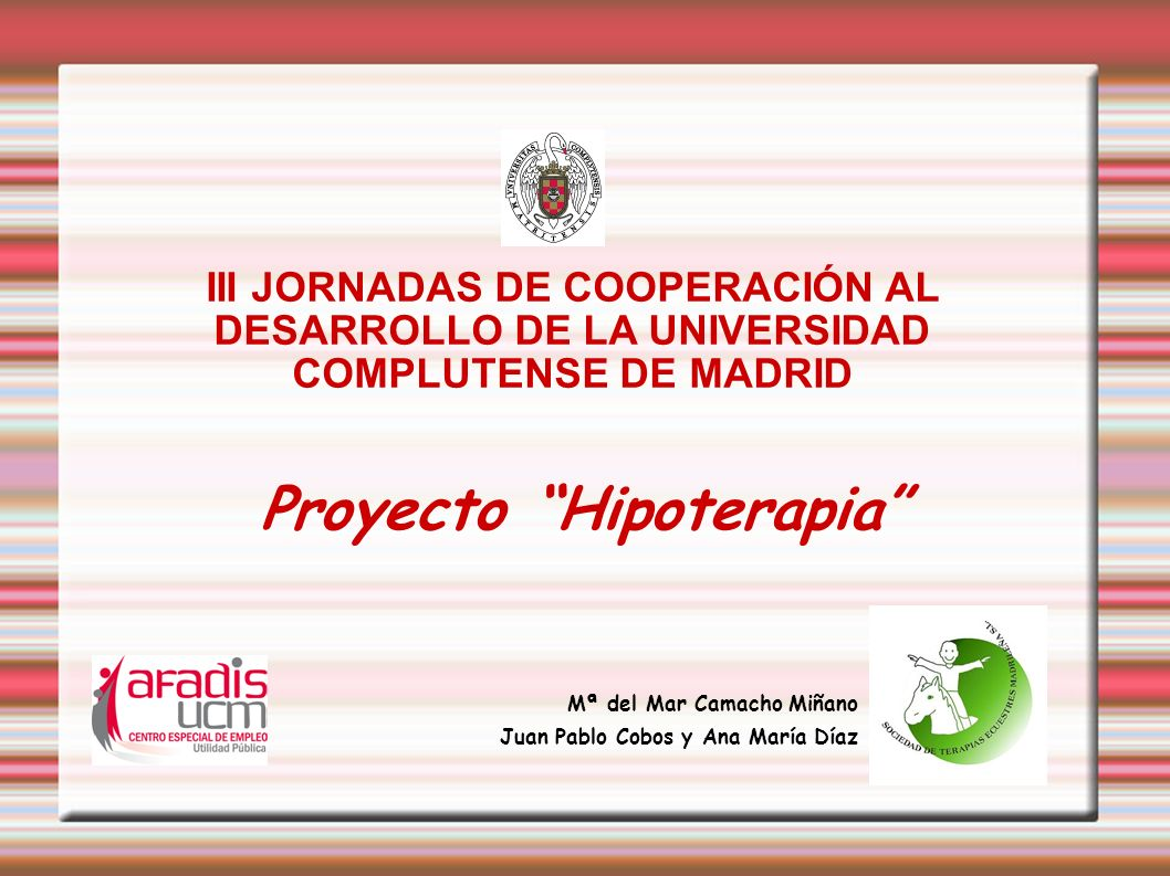 Proyecto Hipoterapia
