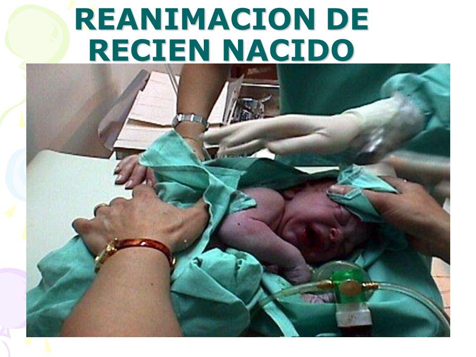 REANIMACION DE RECIEN NACIDO