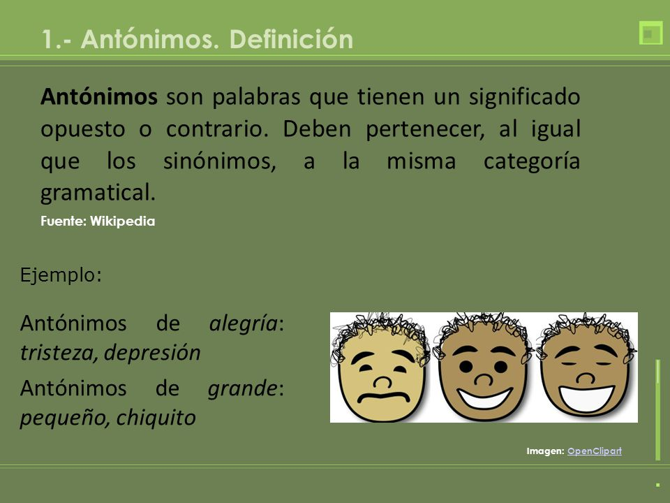 Los ant nimos lengua ppt descargar for Significado de ornamental wikipedia