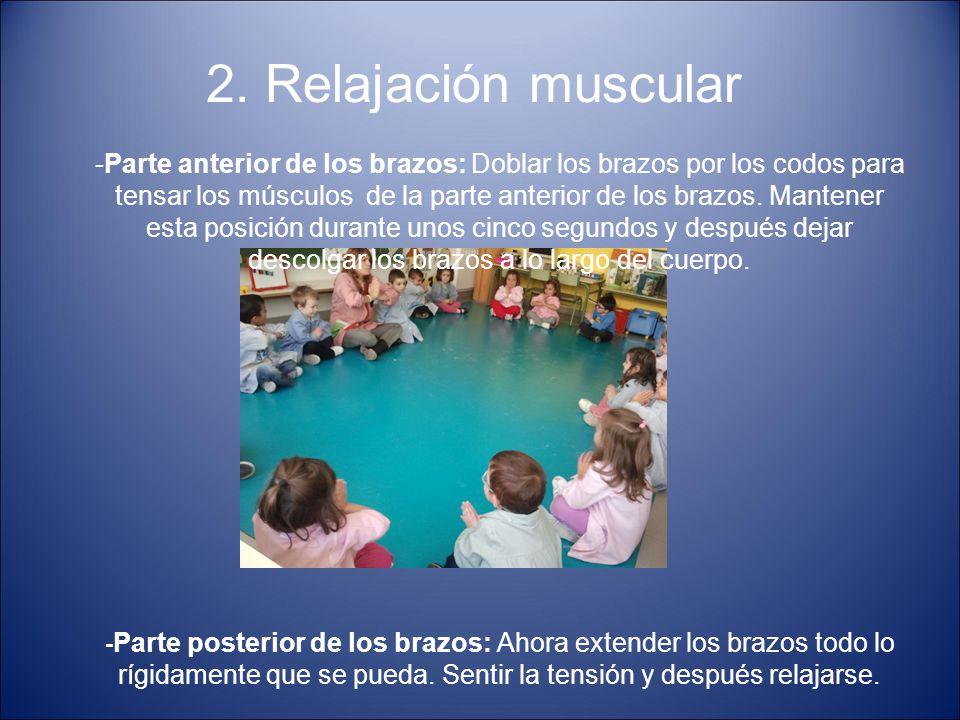 2. Relajación muscular