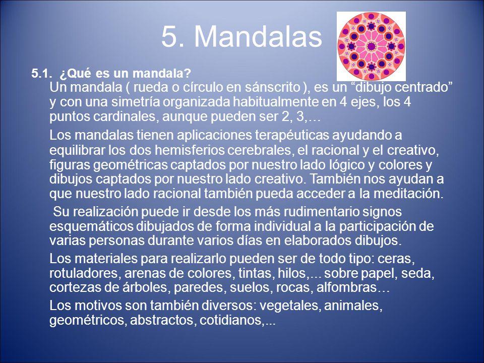 5. Mandalas